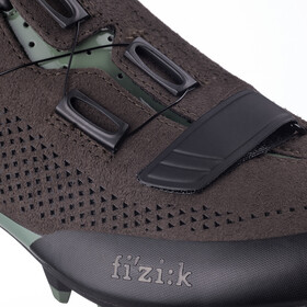 Fizik Terra X5 Suede MTB Shoes dark brown/sage green